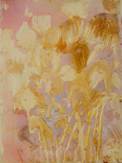 Flesh Flowers, oil on canvas, 40 x 30cm, 2017sm
