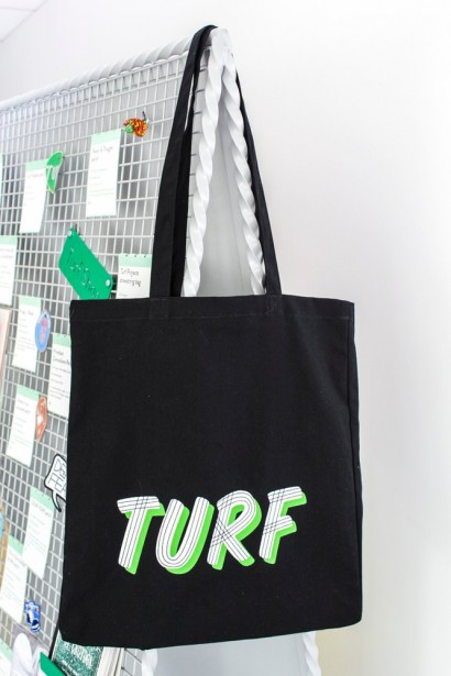 Our Turf tote