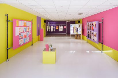 Installation view of Croydon Plays Itself