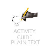 A link to a plain text version 'Present State Examination' Activity Guide
