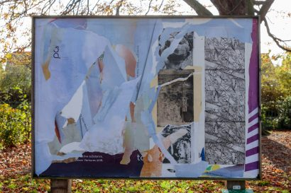 'Tribute to an icon etched in to our memory II' at Wandle Park