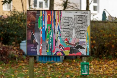 'Tribute to an icon etched in to our memory I' at Wandle Park