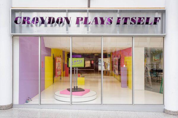 croydon plays itself signage