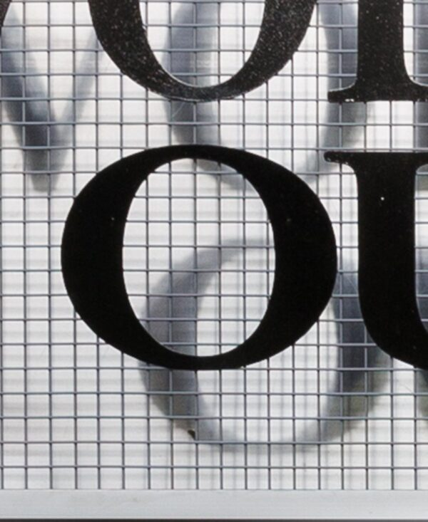 'Frivolous convulsions letter 'O' large