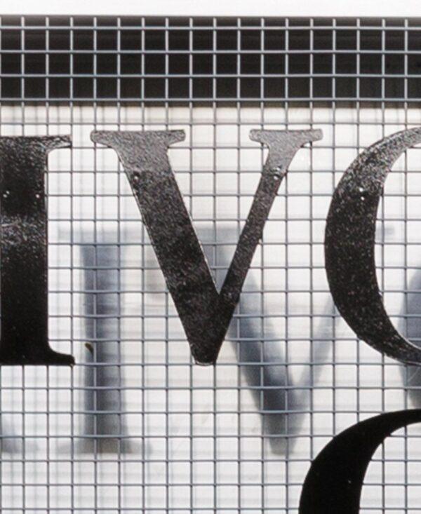 Frivolous convulsions letter 'V'