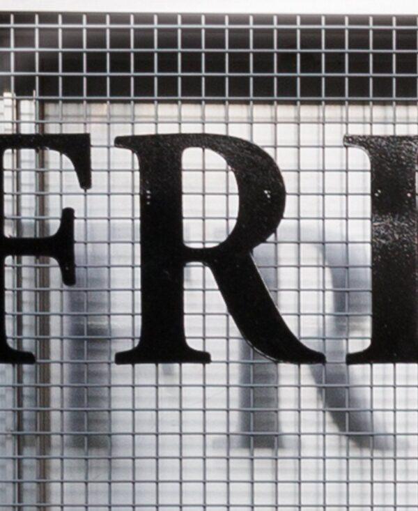 Frivolous convulsions letter 'R'