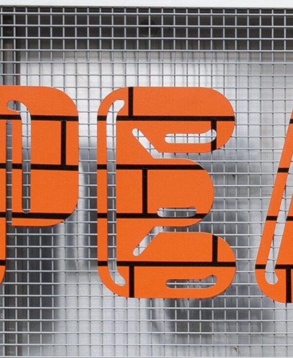 Peaks & troughs letter 'E'