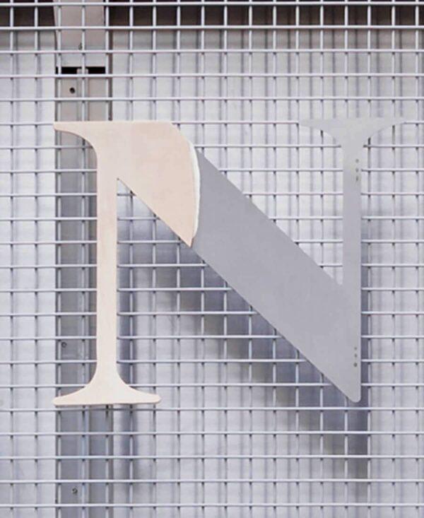 strange loop letter 'N'