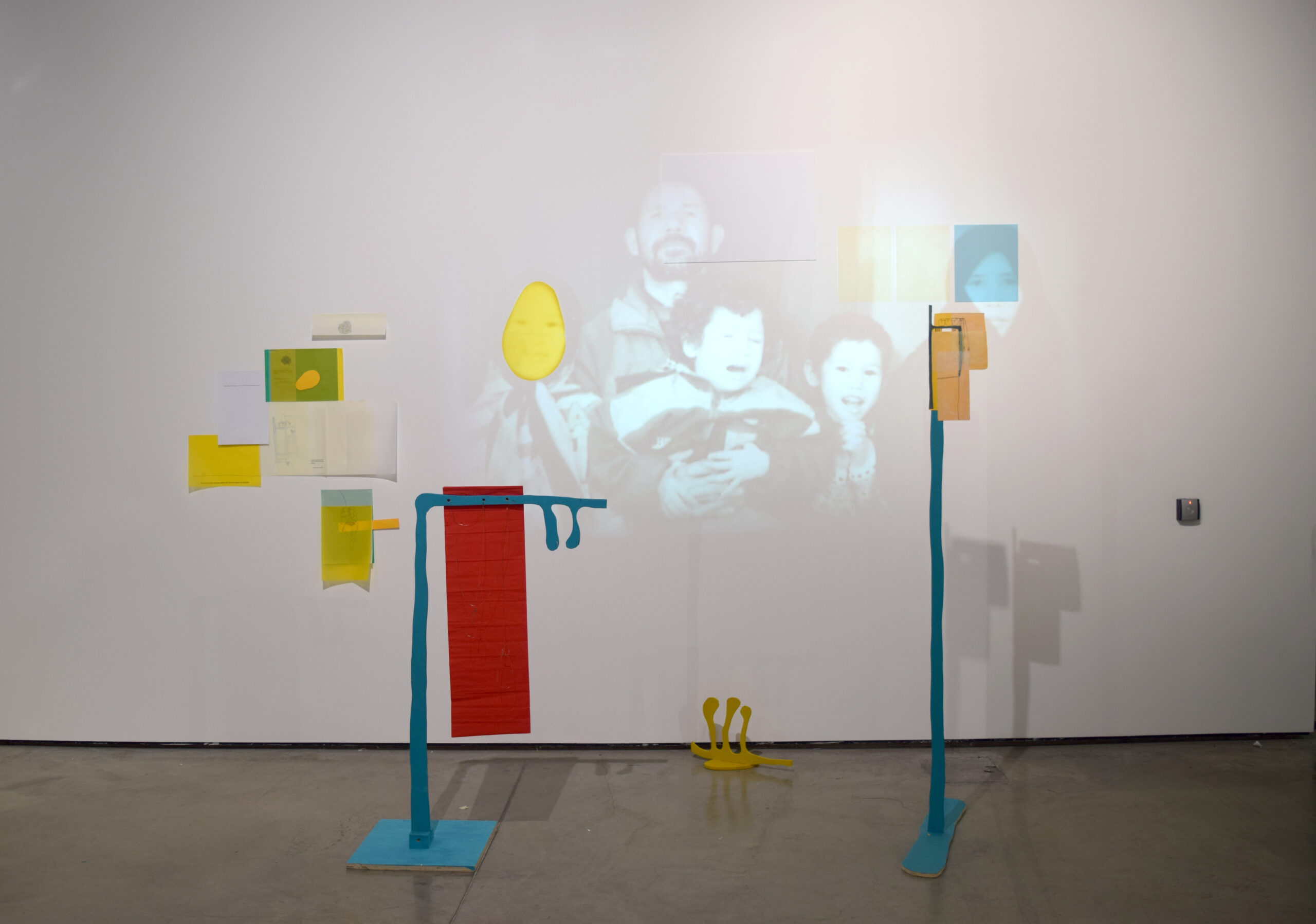 Orna Kazimi artworks in situ