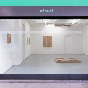 Installation views of Agnes Calf - Silence is so accurate at Turf Projects 4th February to 18th March 2017