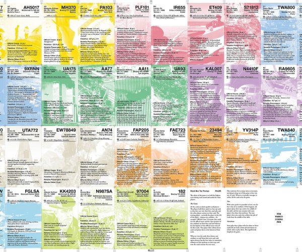 A colourful selection of flight crash announcements.
