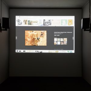 Installation Views of LAST WORDS, SO IT GOES at TURF Projects SAM AUSTEN // STEPHEN CORNFORD // LOUIS HENDERSON // SASHA LITVINTSEVA // FRANCIS PATRICK BRADY // LINDA PERSSON // DANIELA ZAHLNER