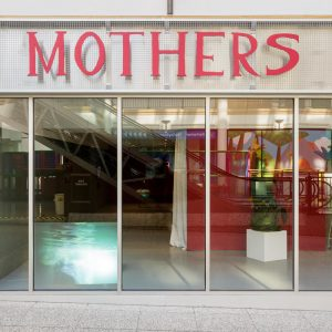 MOTHERS signage at Turf Projects  Photo credit: Tim Bowditch
