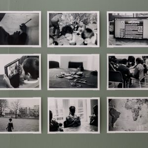 Learning Matter; Agneta Almborg & Emanuel Almborg; black and white prints from 35mm negatives; 2017  Photo credits: Tim Bowditch