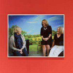Mum's Mum's Sister, Mum's Sister, Mum ; Sharon Thompson & Hannah Regel; framed digital print; 60 x 80cm; 2018  Photo credits: Tim Bowditch