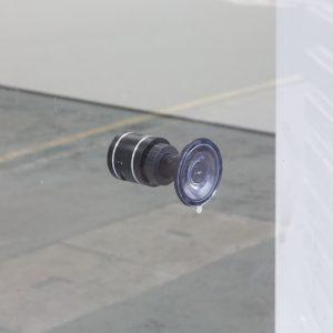 window-mounted speaker