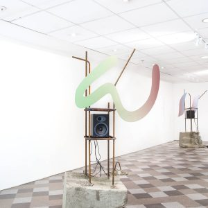 Signals in Reverse exhibition view