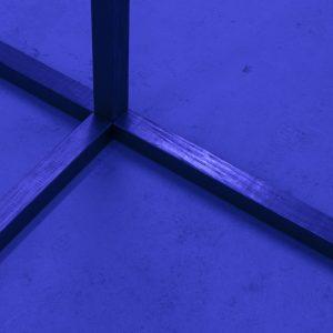 close up of metal frame