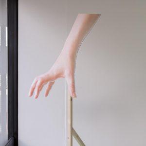 hand cutout