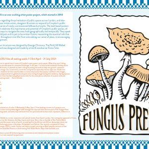 Fungus Press 'like all waiting seeds' map side 2